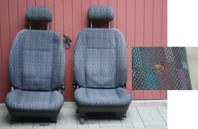 Fotele przednie do forda mk3 3 drzwiowego. Oryginalna obiciówka