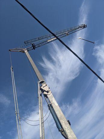 Башенный Самораскладной кран San Marco SMH201 обмен