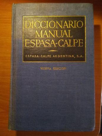 Diccionario Manual Espasa~Calpe