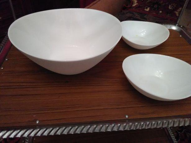 Набор стеклокерамических салатников
