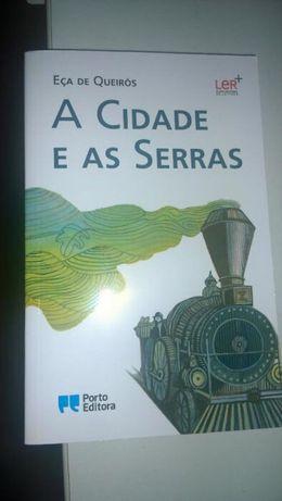 """Livro """"A cidade e as serras"""""""