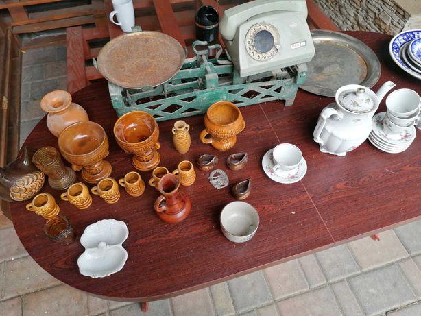 porcelana, telefony, waga PRL