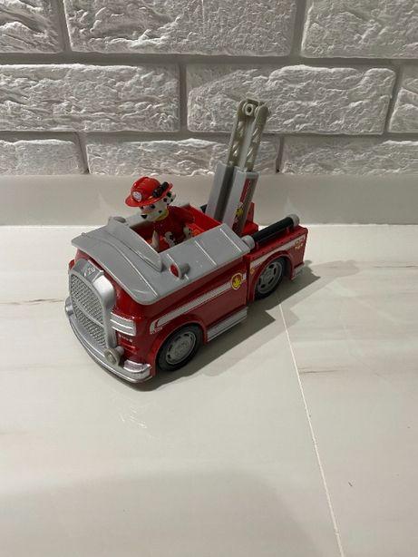Auto, wóz strażacki Marshall interaktywne Psi Patrol