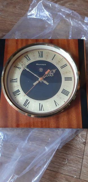 Настенные часы,советские янтарь