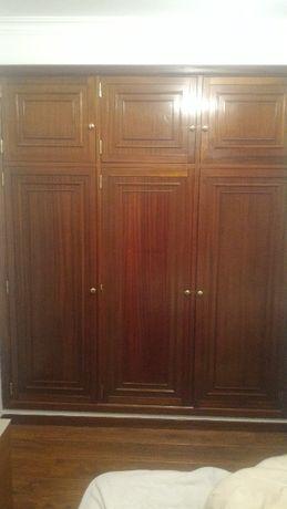 6 portas de roupeiro mogno 200 A x 230 C