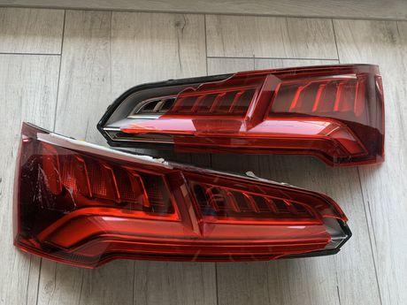 Audi q5 80a komplet lamp tył usa , full led uszkodzone plastiki
