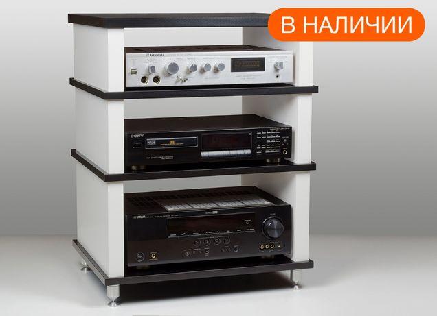 Стойка под ТВ и аудио-видео аппаратуру Hardness BW (В НАЛИЧИИ)