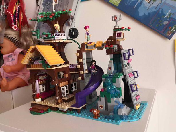 Casa na Árvore e Autocarro - Lego Friends 6 - 12 anos