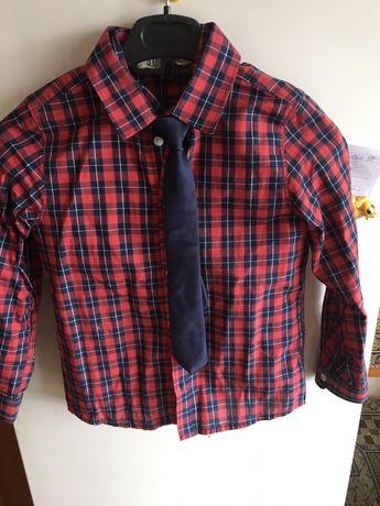 Рубашки на мальчика 6-8 лет