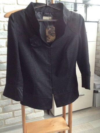 Піджак чорний reserved, 36 розмір