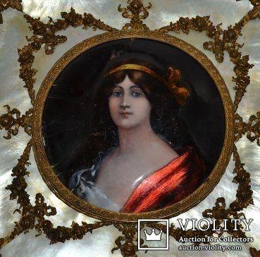 Последняя Королева Пруссии Луиза Мекленбургская, XVIII век. Оригинал.