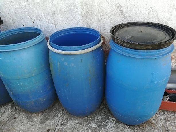 Bidons plásticos 70 lt