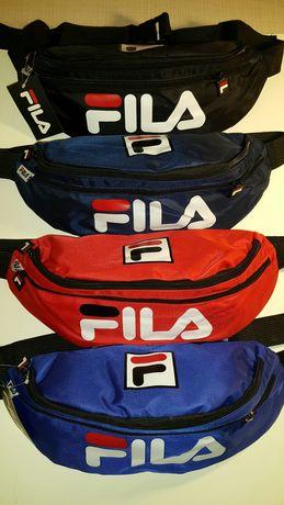 Большая бананка FILA спортивная сумка фила на пояс на плечо барыжка