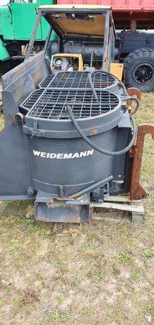 Betoniarka mieszadlo Weidemann zawieszana hydrauliczna jak nowa