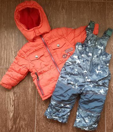 Комбез и куртка.Зима.12 мес