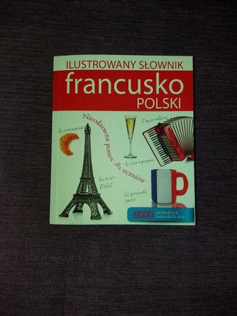 Ilustrowany słownik francusko - polski