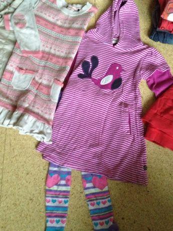 Zestaw ubranek dla 3-4 latki paka wiosenne markowych