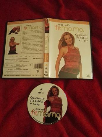 Płyta DVD ćwiczenia dla kobiet w ciąży Leisa Harts fitmama 60 min joga