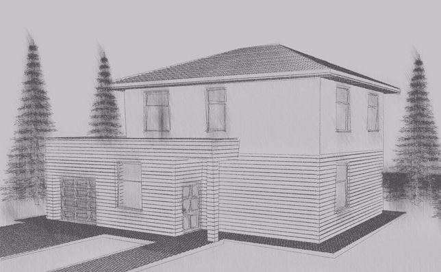 Проект дома, 3D модель