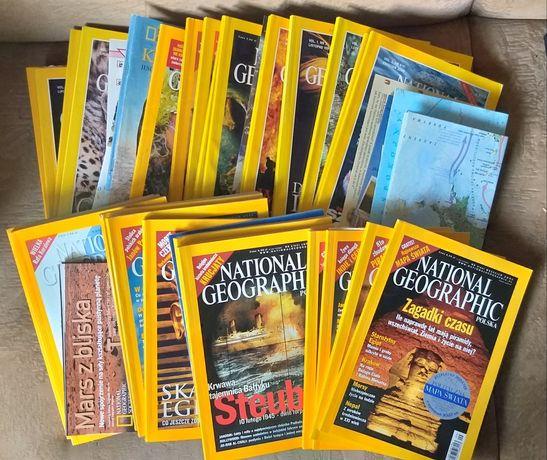 National Geographic numery archiwalne 29 sztuk