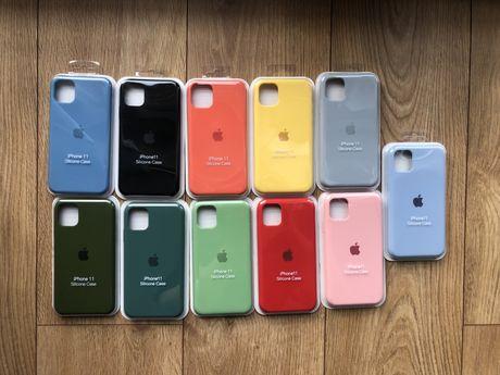 Etui Apple Silicone Case Iphone 11 obudowa NOWE