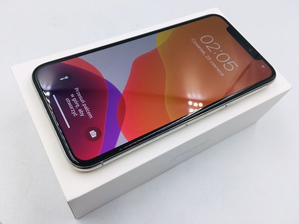 iPhone X 256GB SILVER • NOWA bateria • GW 1 MSC • AppleCentrum