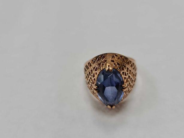 Piękny złoty pierścionek/ Radzieckie 583/ 4.14 gram/ R11