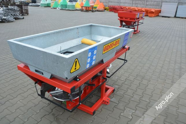 Rozsiewacz do nawozów GRASS-ROL Ocynk 600 l 1000 litrów TRANSPORT