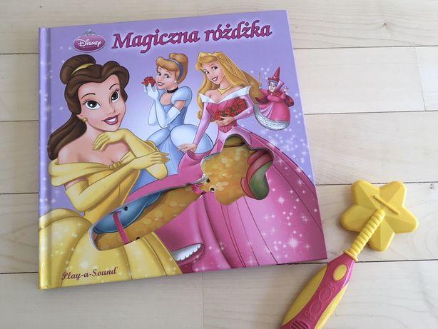 Disney- książka z różdżką, księżniczki