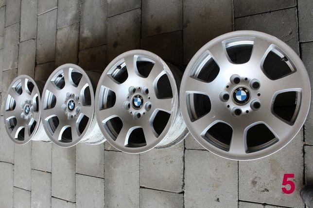 """BMW E60 E61 Alufelgi 16"""" ET20 Oryginał BMW 7Jx16H2 Komplet Części BMA"""