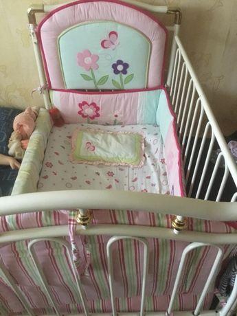 Бампер бортики в детскую кроватку