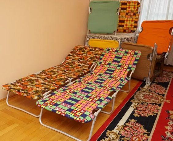 Łóżko Turystyczne składane z materacem NOWE