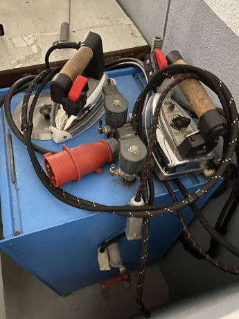 Maquina costura industriais e prensas de ferro