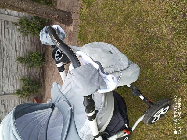 Wózek Adamex Barletta 2w1 +gratis zabawki + kocyki