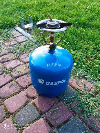 Butla gazowa turystyczna.