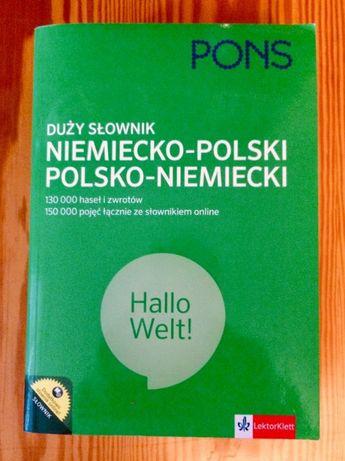 Duży słownik niem-pol, pol-niem PONS