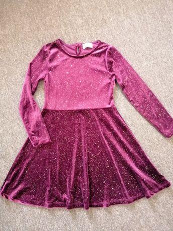 Платье для девочки 8-9 лет