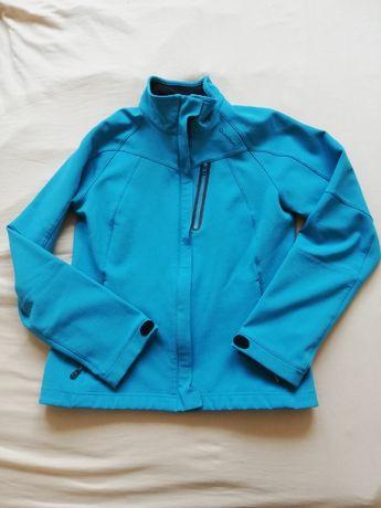 Kurtka sportowa, przejściowa, wiatrówka, Quechua M, niebieska