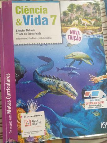 Livro de Ciências Naturais 7º ano ISBN - 9789892326665