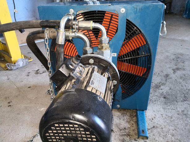 Chłodnica  oleju hydraulicznego z pompą obiegową HYDAC
