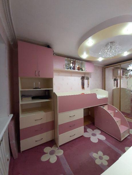 Шикарная Детская комната Barbie для Принцессы. Кровать-чердак.