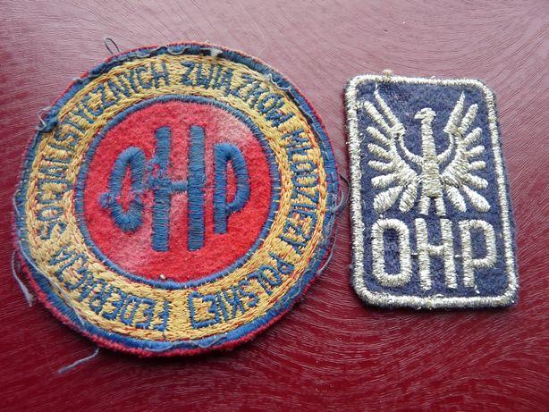 naszywki OHP