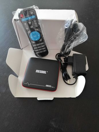 Box Smart TV 4K Android Mecool M8S PRO W