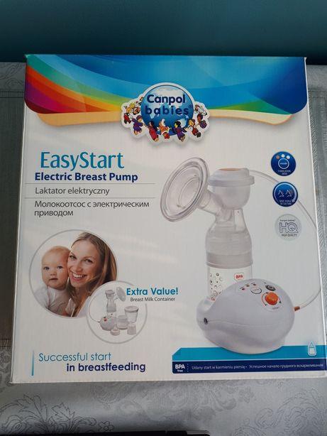 Laktator elektryczny Canpol EasyStart gratis lanomaść ziaja