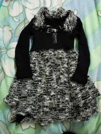 Платье теплое р. 128