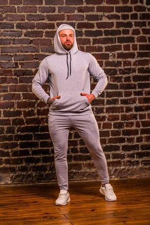 Мужской спортивный КОСТЮМ с капюшоном,штаны  4 ЦВЕТА