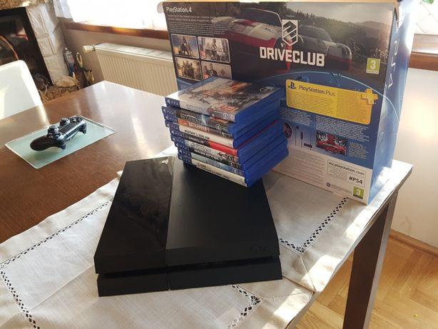 Konsola ps4 500 gb plus 10 gier gratis okazja !!!