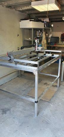 Ploter frezujący CNC / Frezarka CNC / 1250x1250