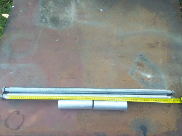 Продам вали з втулками діаметром 35мм