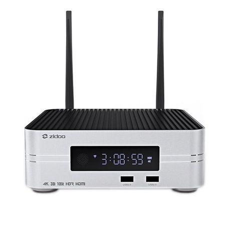 Zidoo Z10 Android Smart TV Box Odtwarzacz sieciowy 4K HDR